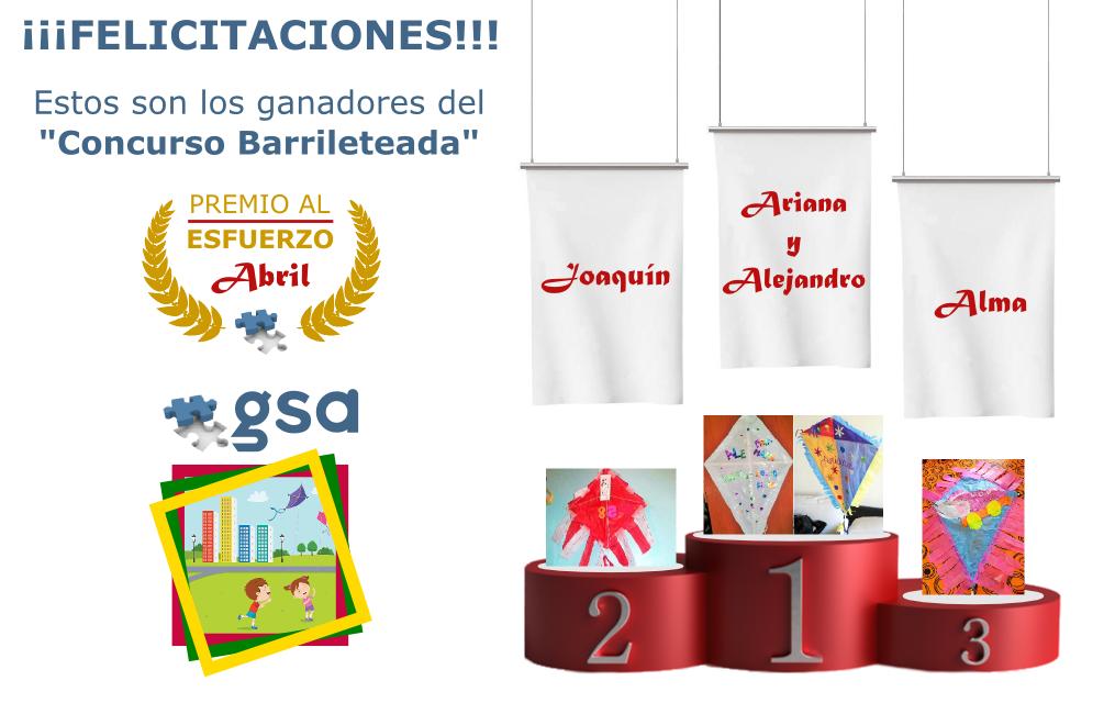 Concurso Barrileteada GSA